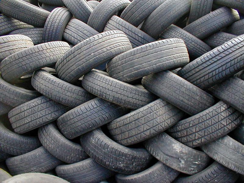 tires mound