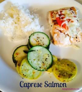 Caprese salmon