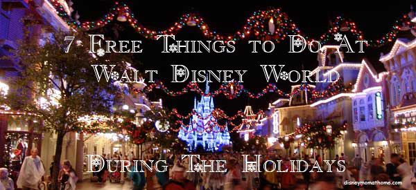 7 things wdw holidays